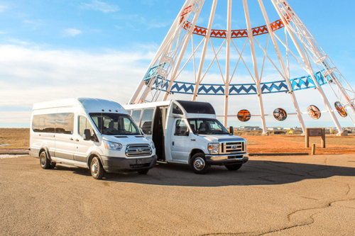 Book A Shuttle with Prairie Sprinter